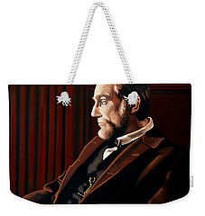 Abraham Lincoln By Daniel Day-lewis Weekender Tote Bag