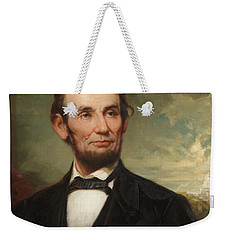 Abraham Lincoln  Weekender Tote Bag by George Henry Story