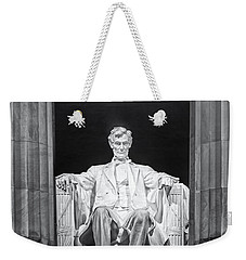 Abraham Lincoln Memorial Weekender Tote Bag