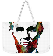 Abraham Lincoln Original Watercolor  Weekender Tote Bag
