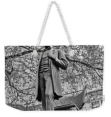 Abraham Lincoln The President Weekender Tote Bag by Maj Seda