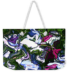 Weekender Tote Bag featuring the digital art Absent by Richard Thomas