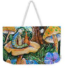 Absolem From Wonderland Weekender Tote Bag