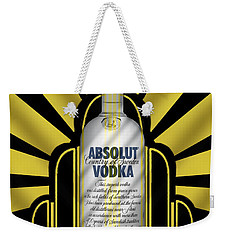 Absolut Deco Weekender Tote Bag