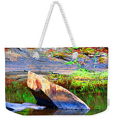 Abstact Rock				 Weekender Tote Bag by Aaron Martens