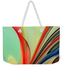 Abstract 040713 Weekender Tote Bag
