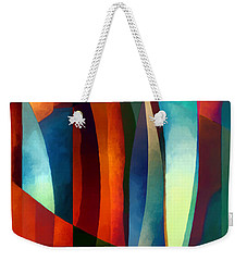 Weekender Tote Bag featuring the photograph Abstract #1 by Elena Nosyreva