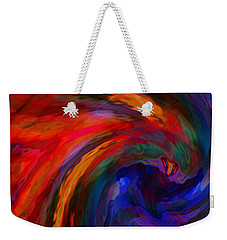 Abstract 29012013 - 042 Weekender Tote Bag by Stuart Turnbull