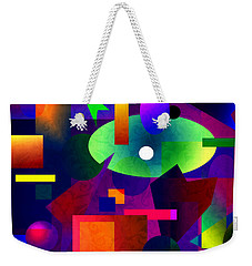 Abstract 74 Weekender Tote Bag by Timothy Bulone