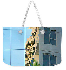 Abstract Architectural Shapes Weekender Tote Bag by Mariarosa Rockefeller