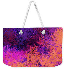 Abstract Autumn Weekender Tote Bag