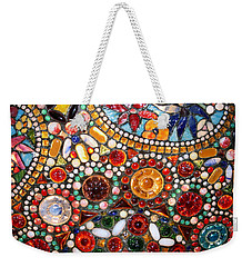 Abstract Beads Weekender Tote Bag