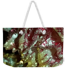 Abstract Carnation Weekender Tote Bag