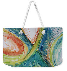 Abstract Chaos Weekender Tote Bag