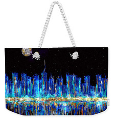 Abstract City Skyline Weekender Tote Bag