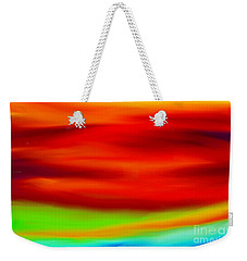 Abstract Colors Weekender Tote Bag by Anita Lewis