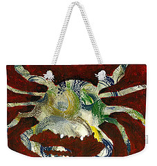 Abstract Crab Weekender Tote Bag
