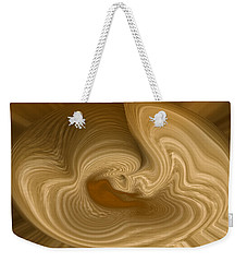Weekender Tote Bag featuring the photograph Abstract Design by Charles Beeler