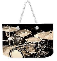 Abstract Drum Set Weekender Tote Bag by J Vincent Scarpace
