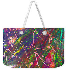 Abstract Fairy Night Lights Weekender Tote Bag