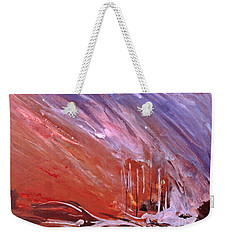 Abstract Fire Weekender Tote Bag