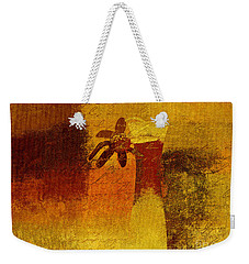 Abstract Floral - P01bt01c11c Weekender Tote Bag