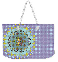 Abstract Floral Weekender Tote Bag by Susan Leggett