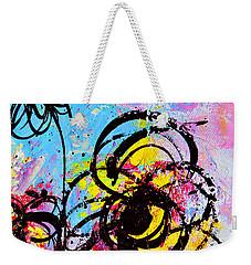 Abstract Flowers 2 Weekender Tote Bag