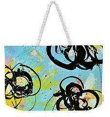 Abstract Flowers Silhouette 4 Weekender Tote Bag