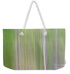 Abstract Forest Weekender Tote Bag by Tamara Becker