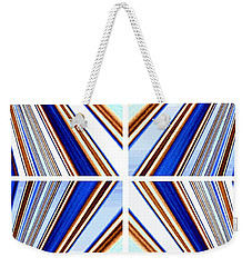 Weekender Tote Bag featuring the digital art Abstract Fusion 236 by Will Borden