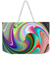 Abstract Fusion 241 Weekender Tote Bag
