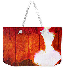 Abstract Ghost Figure No. 2 Weekender Tote Bag