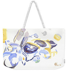 Abstract Motorcycle Weekender Tote Bag