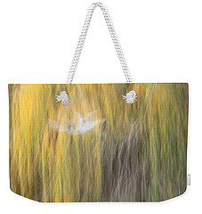 Abstract Haze Weekender Tote Bag