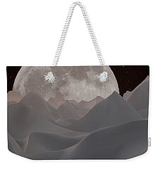 Abstract Landscape #3 Weekender Tote Bag by Wally Hampton