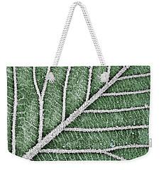 Abstract Leaf Art Weekender Tote Bag