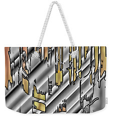 Weekender Tote Bag featuring the photograph Design Parts by Kellice Swaggerty