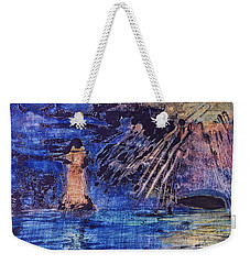 Abstract Lighthouse Weekender Tote Bag