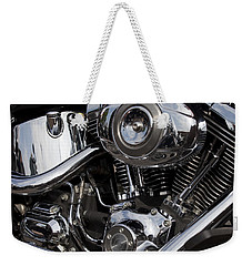 Abstract Motorcycle Engine Weekender Tote Bag