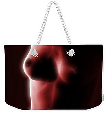 Abstract Nude 2 Weekender Tote Bag