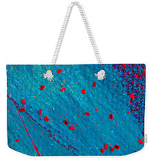 Abstract Original Artwork One Hundred Phoenixes Untitled Number Eleven Weekender Tote Bag