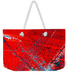 Abstract Original Artwork One Hundred Phoenixes Untitled Number Five Weekender Tote Bag