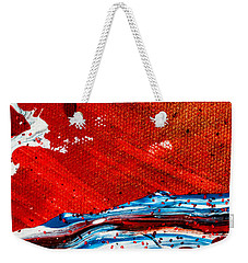 Abstract Original Artwork One Hundred Phoenixes Untitled Number Three Weekender Tote Bag