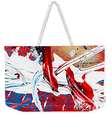 Abstract Original Artwork One Hundred Phoenixes Untitled Number Two Weekender Tote Bag