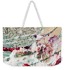 Abstract Original Painting Number Eight Weekender Tote Bag