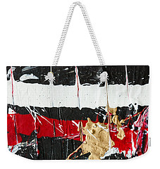 Abstract Original Painting Number Five Weekender Tote Bag