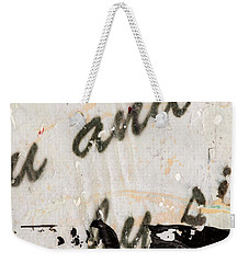 Abstract Original Painting Number Six Weekender Tote Bag