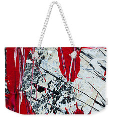 Abstract Original Painting Untitled Nine Weekender Tote Bag