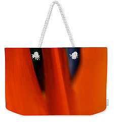 Abstract Paradise Weekender Tote Bag by Michael Cinnamond